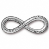 Link Infinity Link Antique Silver